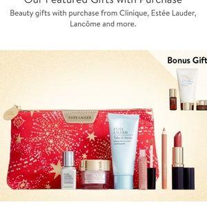 Estee Lauder beauty bag